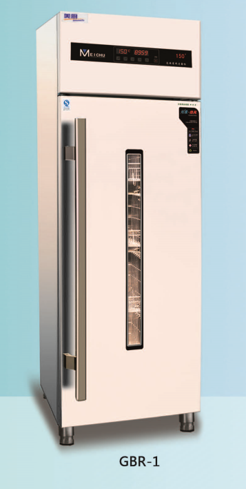 智能光波热风工程单门消毒柜